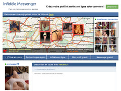 Annonce rencontre infidele Messenger